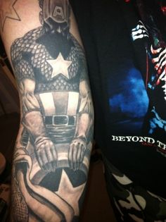#captain #america #tattoos