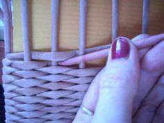 Moje pletení z papíru - Fotoalbum - NÁVOD - VZORY PLETENÍ - NÁVOD - NA VLNKOVOU VAZBU