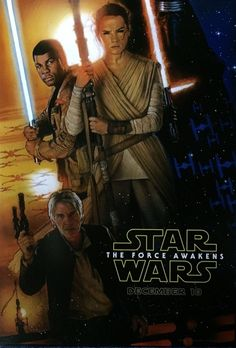"""Novo pôster de """"Star Wars: O Despertar da Força"""", divulgado na D23. Filme estreia no dia 17 de dezembro no Brasil"""