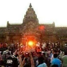 Shocking, but true: Sunrise from inside Konark Temple, Kerala!  This happens once in 2,000 year's!  #India #KonarkTemple #Kerala #Shocking #oncein2000years #sunrise #travel #trip #tour #yolo #usa #UCLA
