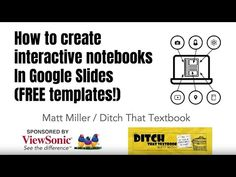 Interactive Journals, Teaching Strategies, Teaching Themes, Teaching Technology, Blog, Google Classroom, Classroom Ideas, Reading Notebooks, Math Notebooks