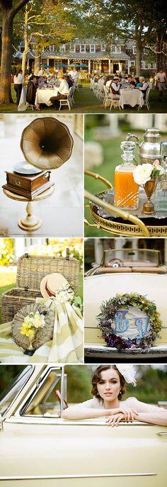 Inspiración para una boda años 20 - ✯ http://www.pinterest.com/PinFantasy/lifestyles-~-belle-%C3%A9poque-y-a%C3%B1os-1920-arte-y-moda/
