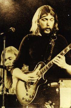 Duane Allman. A genius with a slide blending power blues into rock.