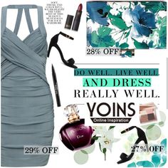 YOINS by vict0ria on Polyvore featuring Bobbi Brown Cosmetics, Lipstick Queen, Trish McEvoy, Laura Cole, Folio, Levi's, yoins, yoinscollection and loveyoins @yoinscollection #yoins