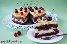 Sarokkonyha: Karamelles, túrós cseresznyetorta Cheesecake, Food, Caramel, Meal, Cheesecakes, Essen, Hoods, Meals, Eten