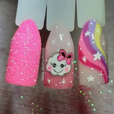 J Nails, Dope Nails, Nail Manicure, Pedicure, Grunge Nails, Kawaii Nail Art, Hand Painted Dress, Gorgeous Nails, Summer Nails
