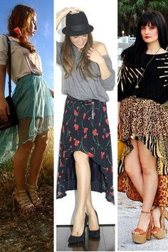 DIY Fish tail skirt from a maxi skirt - wonder if I could pull one of these off...