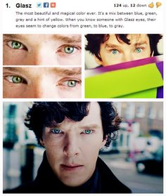 And finally we have the color of Benedict's eyes <3 actually pretty sure thats the color of Garrett Hedlund's eyes as well....