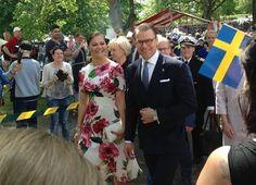 Crown Princess Victoria, Queen Silvia, Princess Estelle, Princess Madeline, Princess Sofia attend the Sweden's National Day 2017 Celebrations