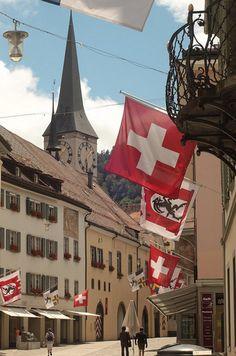 Chur, Switzerland - a stumbled upon happy accident for the Markhoffs European Tour, European Trips, Chur Switzerland, Basel, Countryside Fashion, Lake Geneva, Zermatt, Medieval Town, Swiss Alps