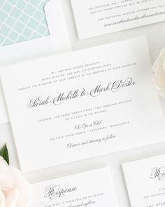 Wedding Invitations | Shine Wedding Invitations | Luxury Wedding Invitations for Modern Weddings
