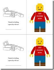Lego Mini Coloring Book