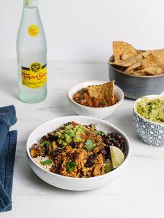 The Best Carnitas Recipe Ever! This Gluten Free Crispy Carnitas Taco Bowl Recipe is Everything! - The Effortless Chic