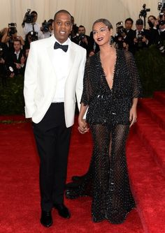 Jay Z Beyoncé   The 18 Best-Dressed Celebrity Couples At The Met Gala