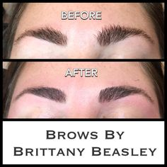 Brow Shaping includes wax, (a low temperature hard wax), brow tint, trim, & tweeze!