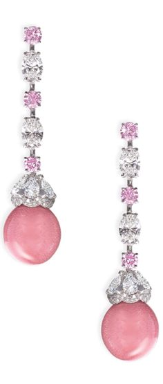 Rosamaria G Frangini | MyPinkJewellery | David Morris Diamond Earrings |