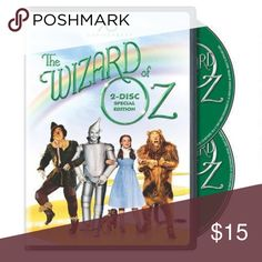 The Wizard of Oz 70th Anniversary 2 Disc Special This DVD is brand new and in shrink wrap. 2 disc special edition. Great family movie. Other