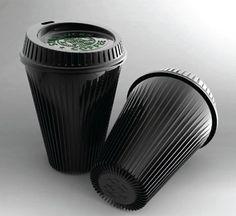 Black polypropylene with cooling corrugation