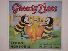 """Greedy Bees"" Pedro Monsonis.  Valencia."