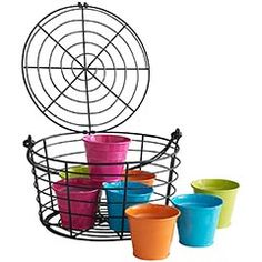 #Pier1 - Colorful citronella candles. With all the rain and the lush growth of our yard, we need all the mosquito repellant we can get!