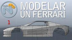 Como modelar un Ferrari Testarossa. Parte 1