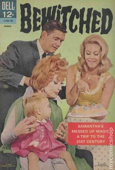 Fifty years ago this month (March 1967) Dell comics released the eighth issue of the Bewitched series.