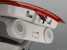 Dodge Caliber tailgate speakers