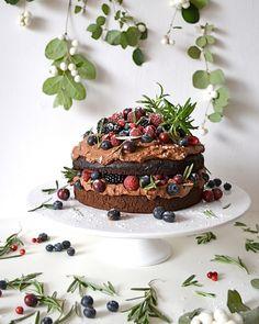 ciasto czekoladowe z rozmarynem