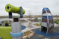 Central Park in Maple Grove  Seven play areas in playground, interactive water fountain, walking paths, picnic areas, and garden