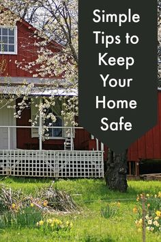 Simple Tips to Keep Your #Home Safe