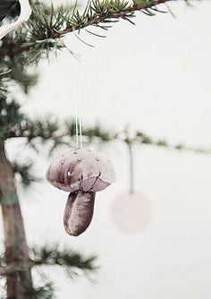 ♕ mushroom ornament