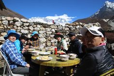 Travel Ideas, Travel Inspiration, Everest Base Camp Trek, Traveling By Yourself, Lunch, Camping, Explore, Group, World