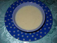 Velouté de radis noir - Radis noir, pommes de terre, bouillon, fromage fondu, crème fraiche