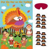 Put the Hat On the Turkey Party Game