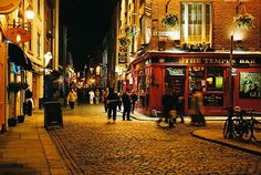 Temple Bar, Dublin, Ireland (been there, loved it. will go back when I'm older)