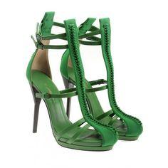 Gorgeous Green Heels