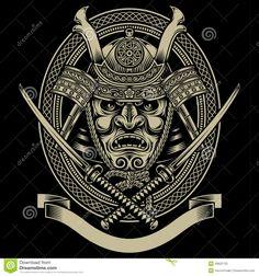 samurai-warrior-katana-sword-fully-editable-vector-illustration-editable-eps-isolated-black-background-image-suitable-40622732.jpg (1300×1390)
