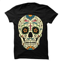 Sugar skull Tee - #shirt pillow #red hoodie. PURCHASE NOW => https://www.sunfrog.com/LifeStyle/Sugar-skull-Tee-66736649-Guys.html?68278