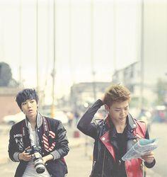 Zelo and Bang Yong Guk