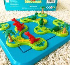 Логическая настольная игра, динозавры, для детей, игры, дети