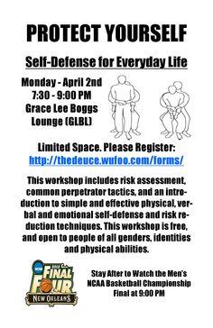 Self-Defense Class - April 2012