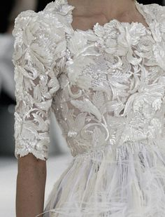 Gown. Chanel