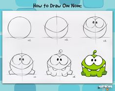 Have you ever wanted to learn how to draw Om Nom? Here is a pro tip, straight from the designers of Cut the Rope.