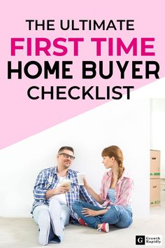 First time home buyer? Not sure where to start? No problem! Use this 7 Step Ultimate Guide for How to Buy a House as a First Time Home Buyer. This checklist covers the basics and plan you need to buy your dream home. Home Selling Tips, Home Buying Tips, Buying Your First Home, Home Buying Process, Best Money Saving Tips, Ways To Save Money, Money Tips, Mortgage Tips, Mortgage Payment