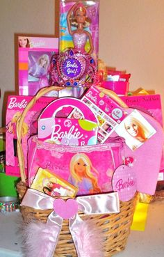 Barbie Kids Basket