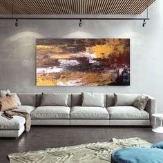 Original Abstract Canvas Art-Modern Decor Large Abstract image 1 Abstract Canvas Art, Large Canvas Art, Large Painting, Oil Painting On Canvas, Extra Large Wall Art, Modern Art Deco, Modern Decor, Office Wall Art, Office Decor