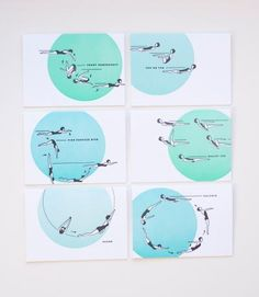 Look at this synchronized swimming stationery set!  @Jane Fox @Faustyna H