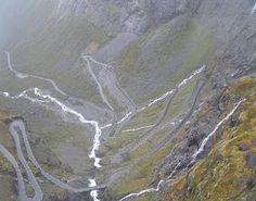 """Trollstigen"""", Noruega."""