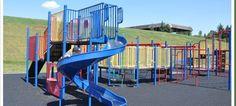 Ramsay school playground Calgary, AB