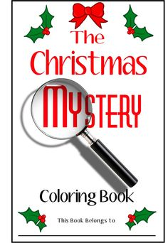 The Christmas Mystery Coloring Book